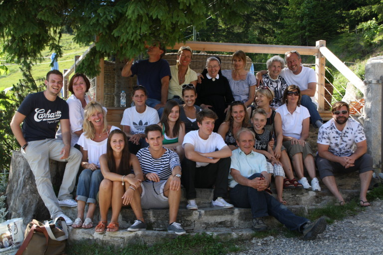 Familienfest im Almbad Sillberghaus