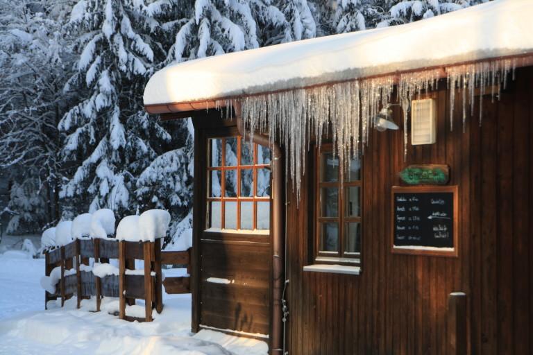 Eiszapfenschönheiten am Almbad Huberspitz