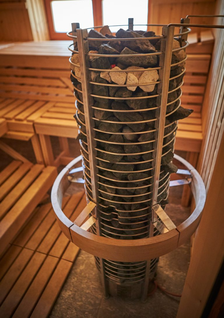 Und nach der Arbeit das Vergnügen: ein Aufenthalt in unserer Sauna