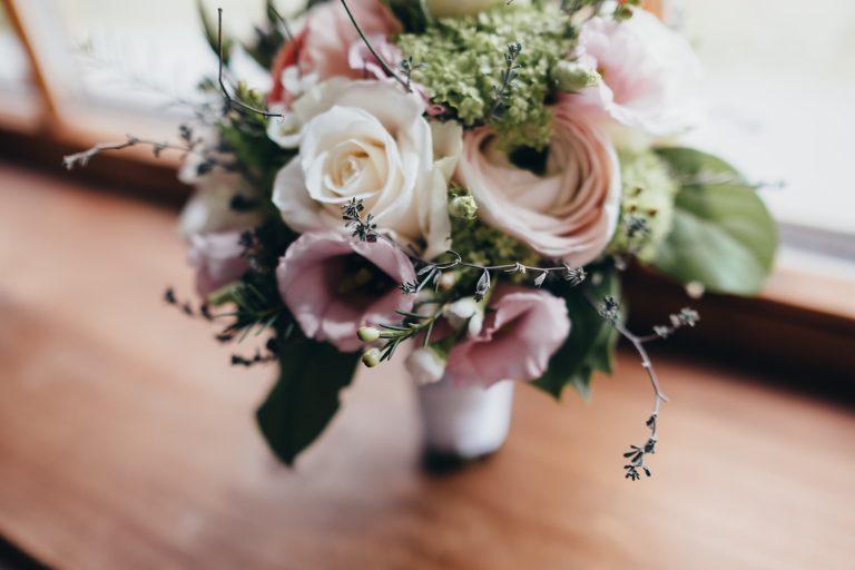 Der Brautstrauß im Almbad Huberspitz