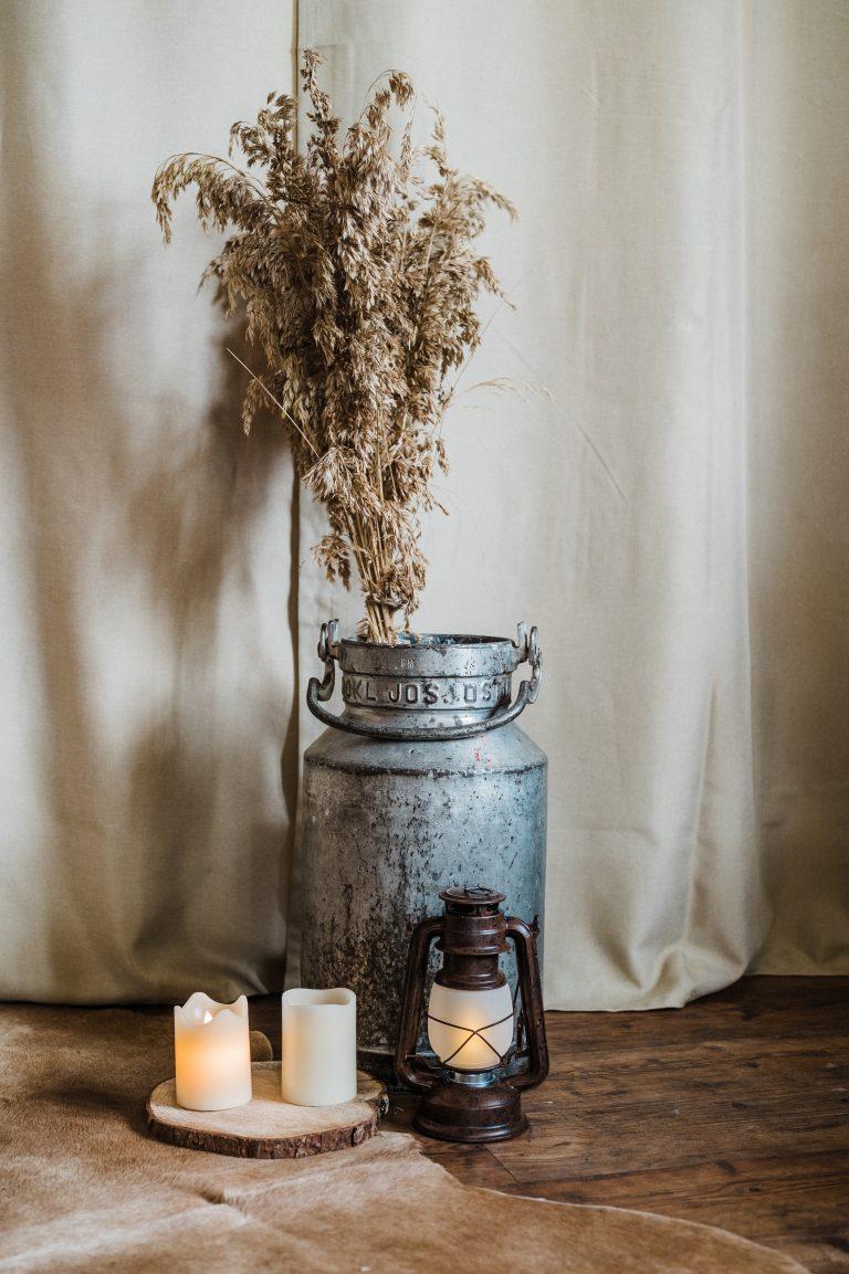 Almerische Dekoration für die romantische Winterhochzeit
